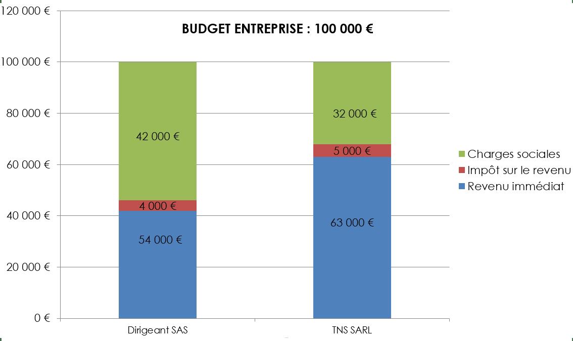 Budget SAS et budget SARL