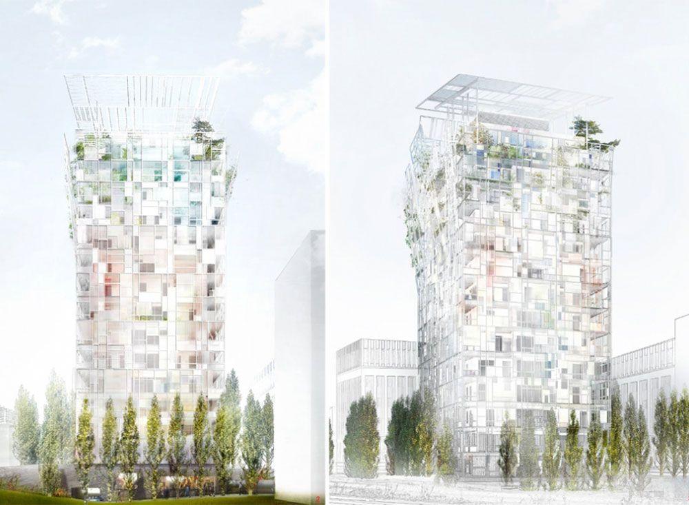 Visuel immeuble Ycone