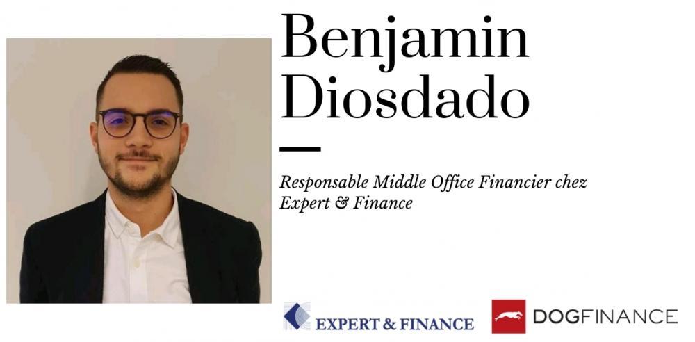 Benjamin Diosdado responsable middle office financier